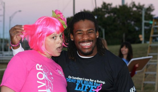 deangelo-williams-breast-cancer