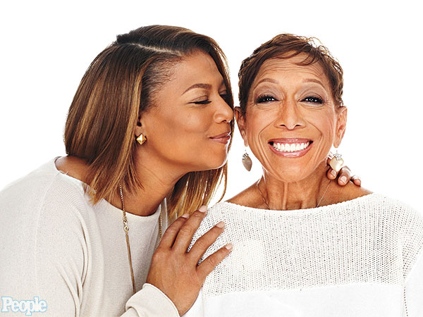 queen-latifah-and-mom